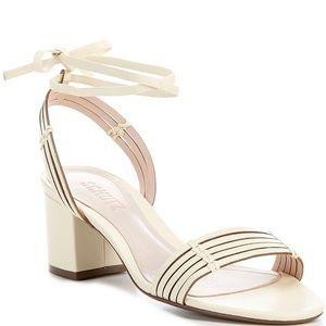 Schutz Najila Vanilla Ice Strappy Heel Sandals